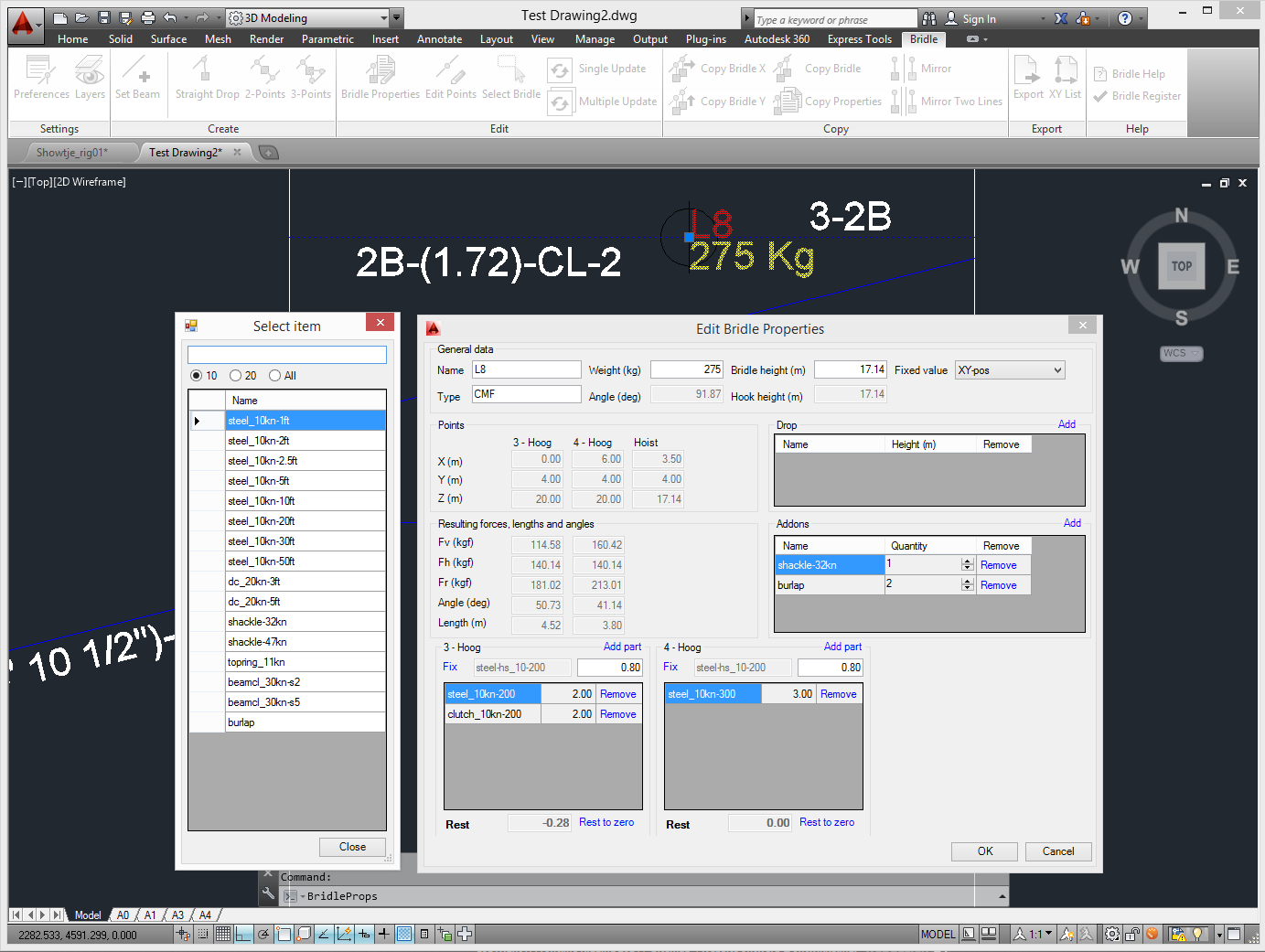 bridlecalculator screenshot5