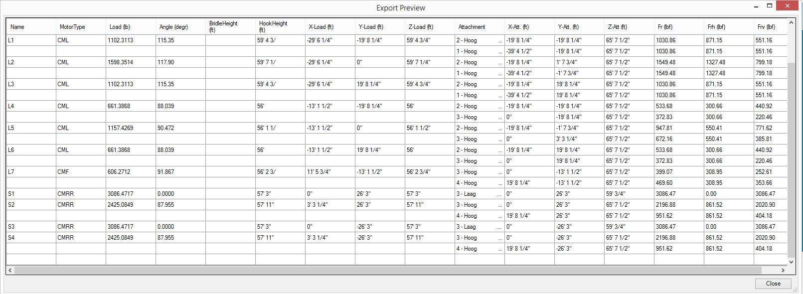 bridlecalculator screenshot 6